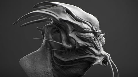 Creature Concepting In 3D