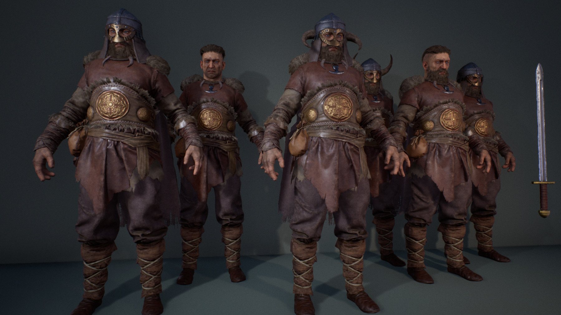 Viking Warriors Characters Pack