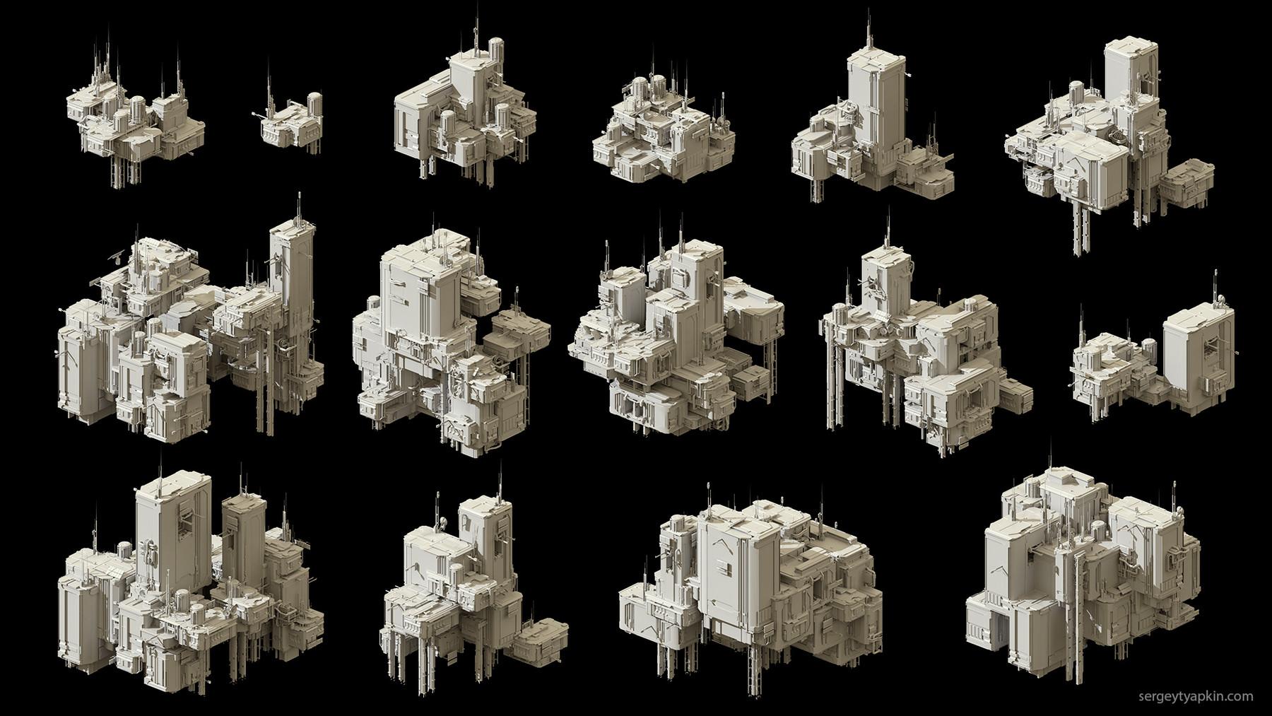 Buildings render 1