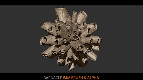 Barnacle IMM brush and Alpha