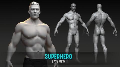 Superhero Base Mesh