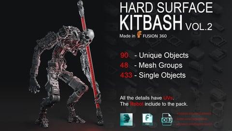 Hard Surface KitBash Vol 2