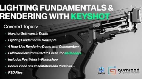 Lighting Fundamentals and Rendering in Keyshot - Tutorial