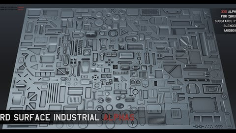 320 Hard Surface Industrial Alphas