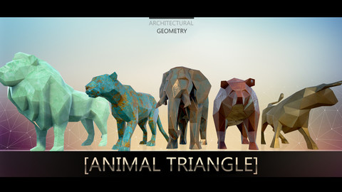 Animal Triangle [ Props Assets Unreal 4 ]
