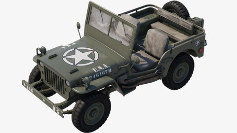 Military Jeep Car Willys