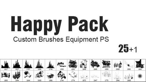 Happy Pack - Custom Brushes for Photoshop