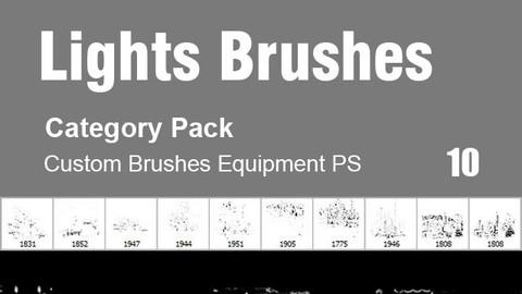 $3 Lights Brushes - Category Brushes for Photoshop