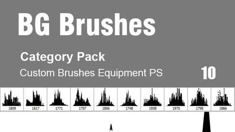 BG Brushes - Category Brushes for Photoshop