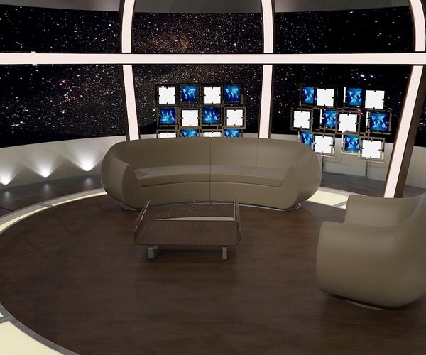 Tv studio furniture Simple Tv Virtual Tv Studio Chat Set 20 Amazoncom Artstation Aker Studio