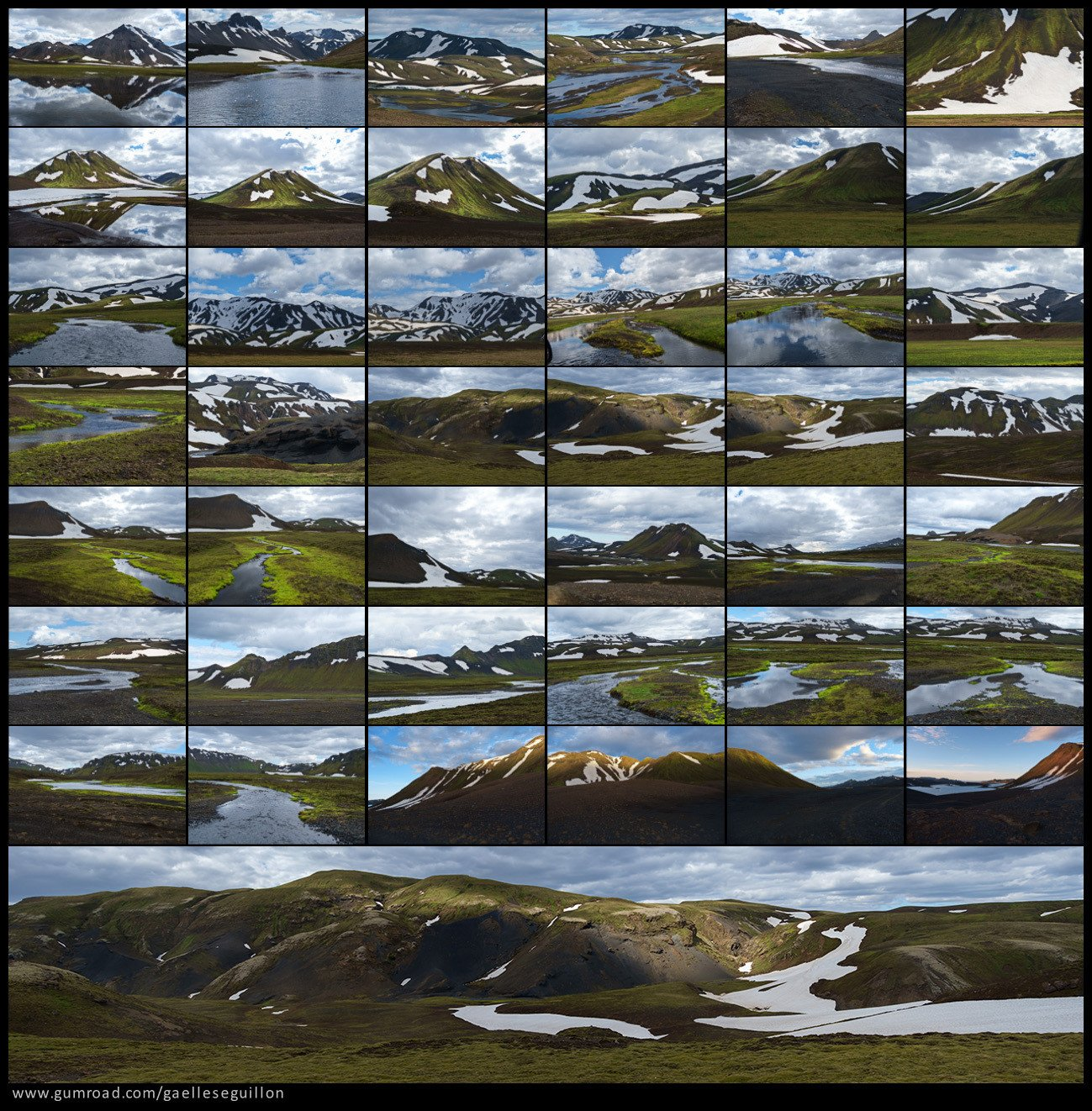 Iceland landscape preview 2