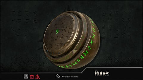 Runes - Brushes and Substances
