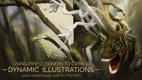 USING PIPE CLEANERS TO CREATE DYNAMIC ILLUSTRATIONS