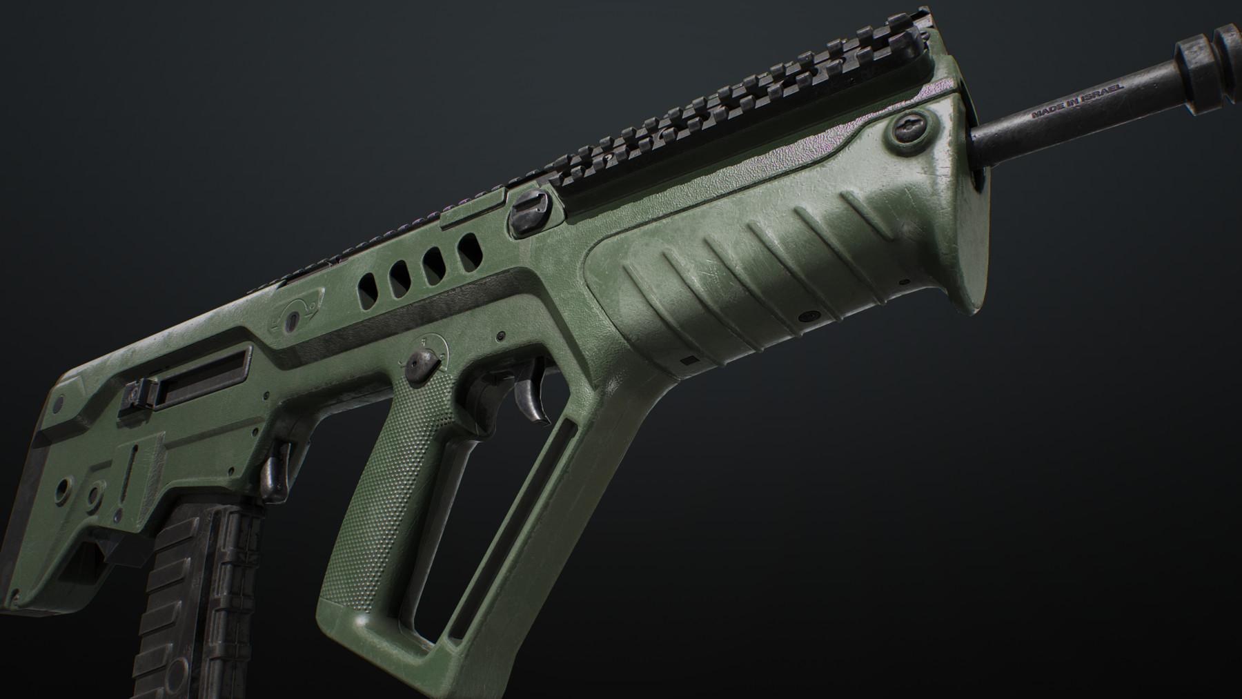 Sbg ar556 green
