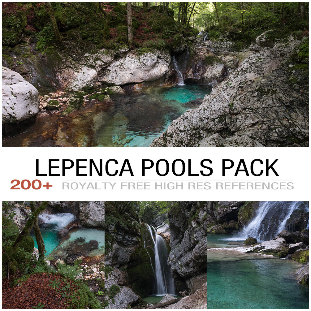 Lepenca pools cover 2