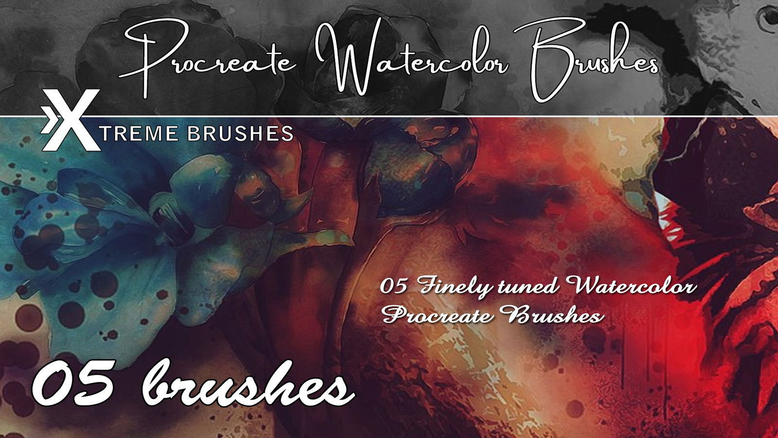 Rodd Lopes - Procreate Watercolor Brushes