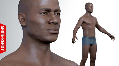 Average Black Male Body