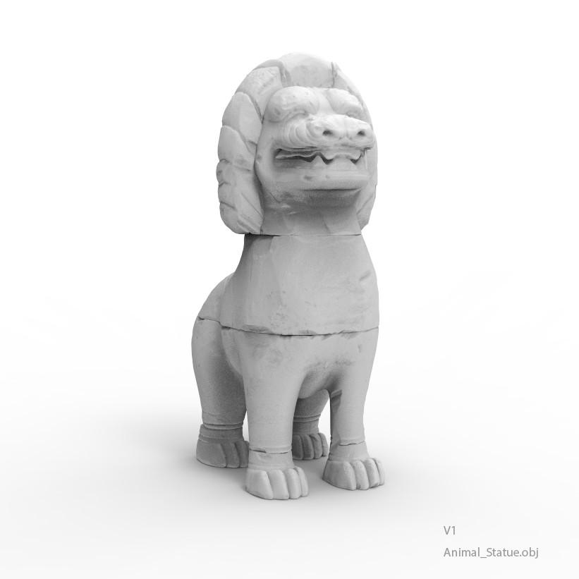 Animal statue v1