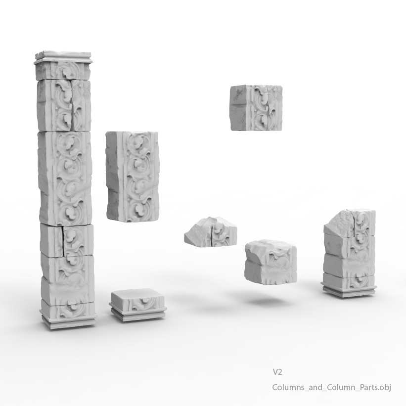 Columns and column parts v2
