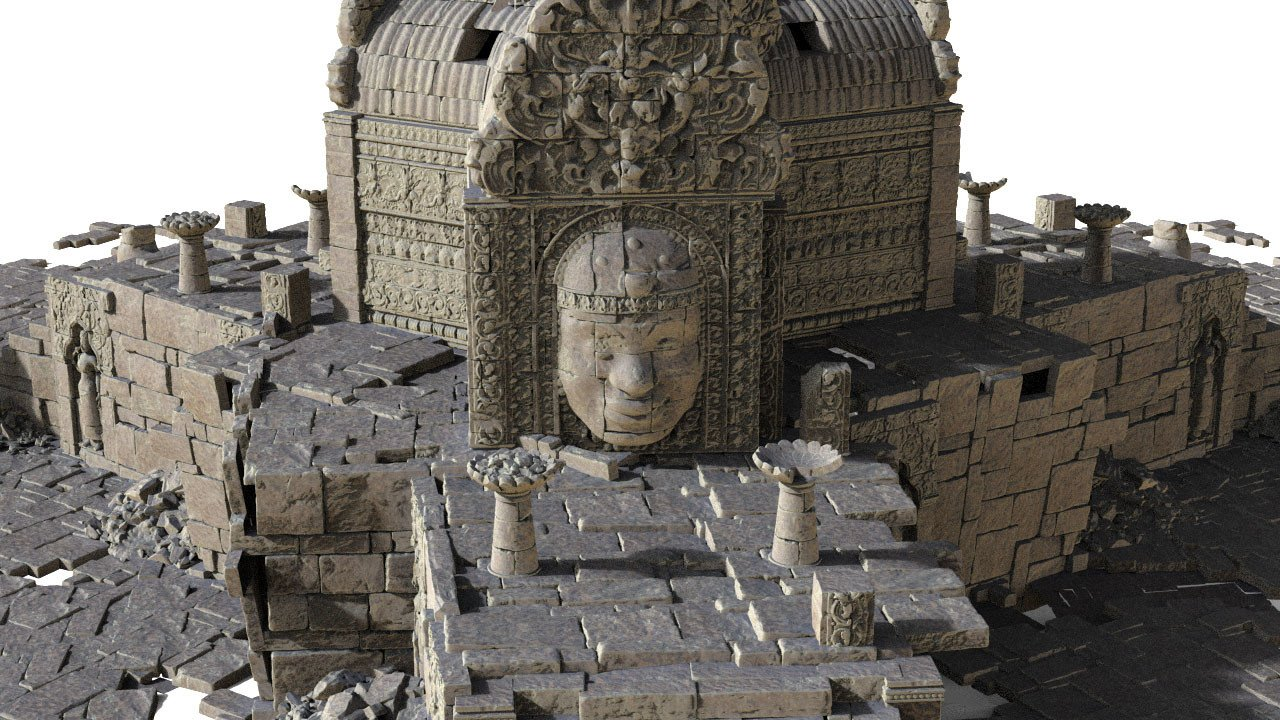 Ancient ruins 002