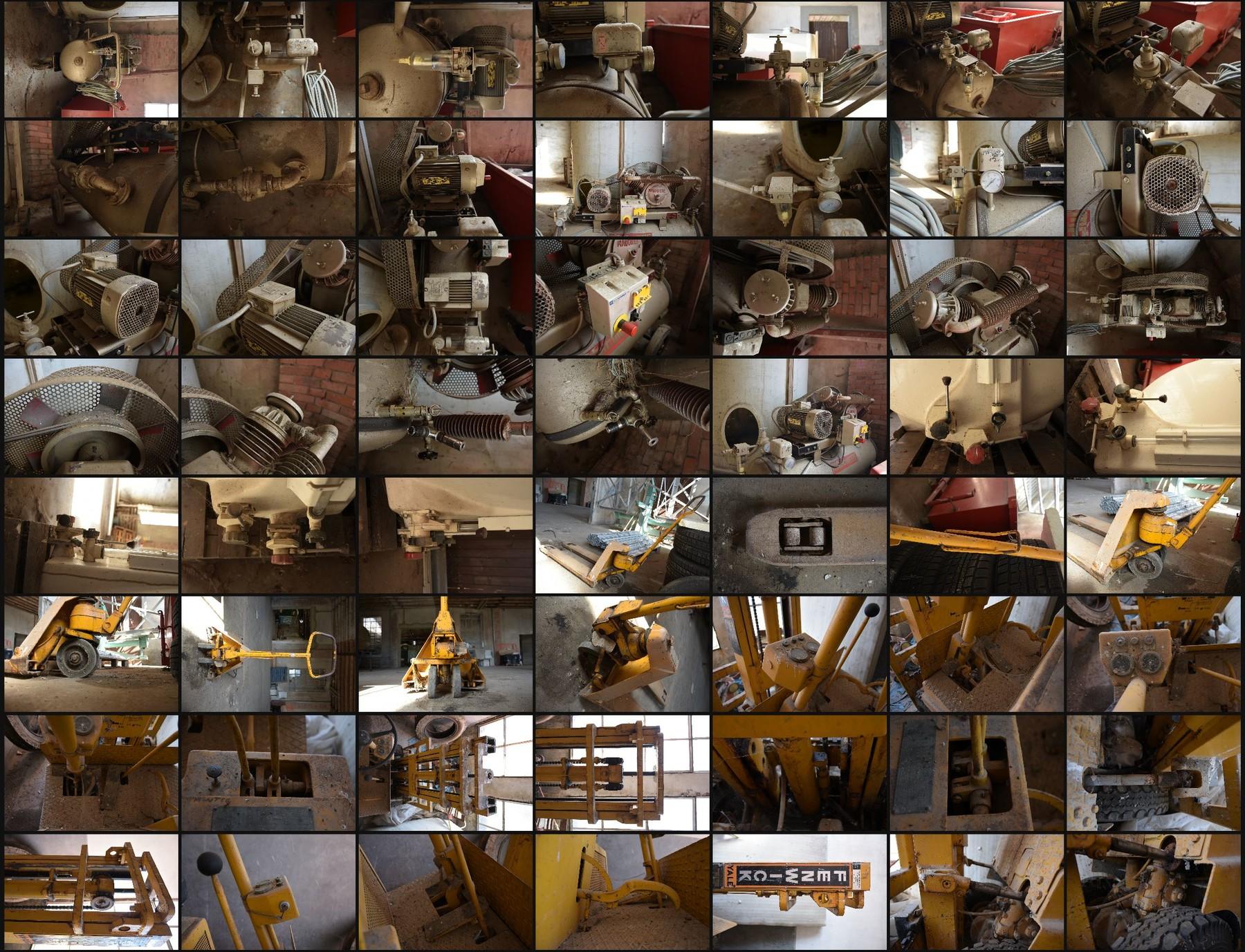 Photo reference pack hardsurface 1
