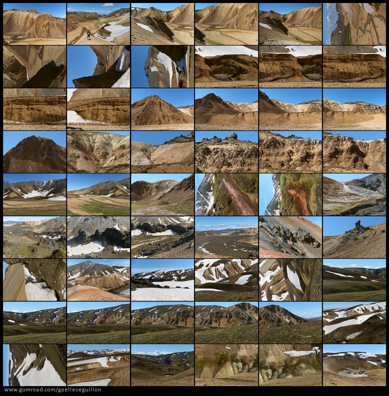 Rhyolite mountains preview 1