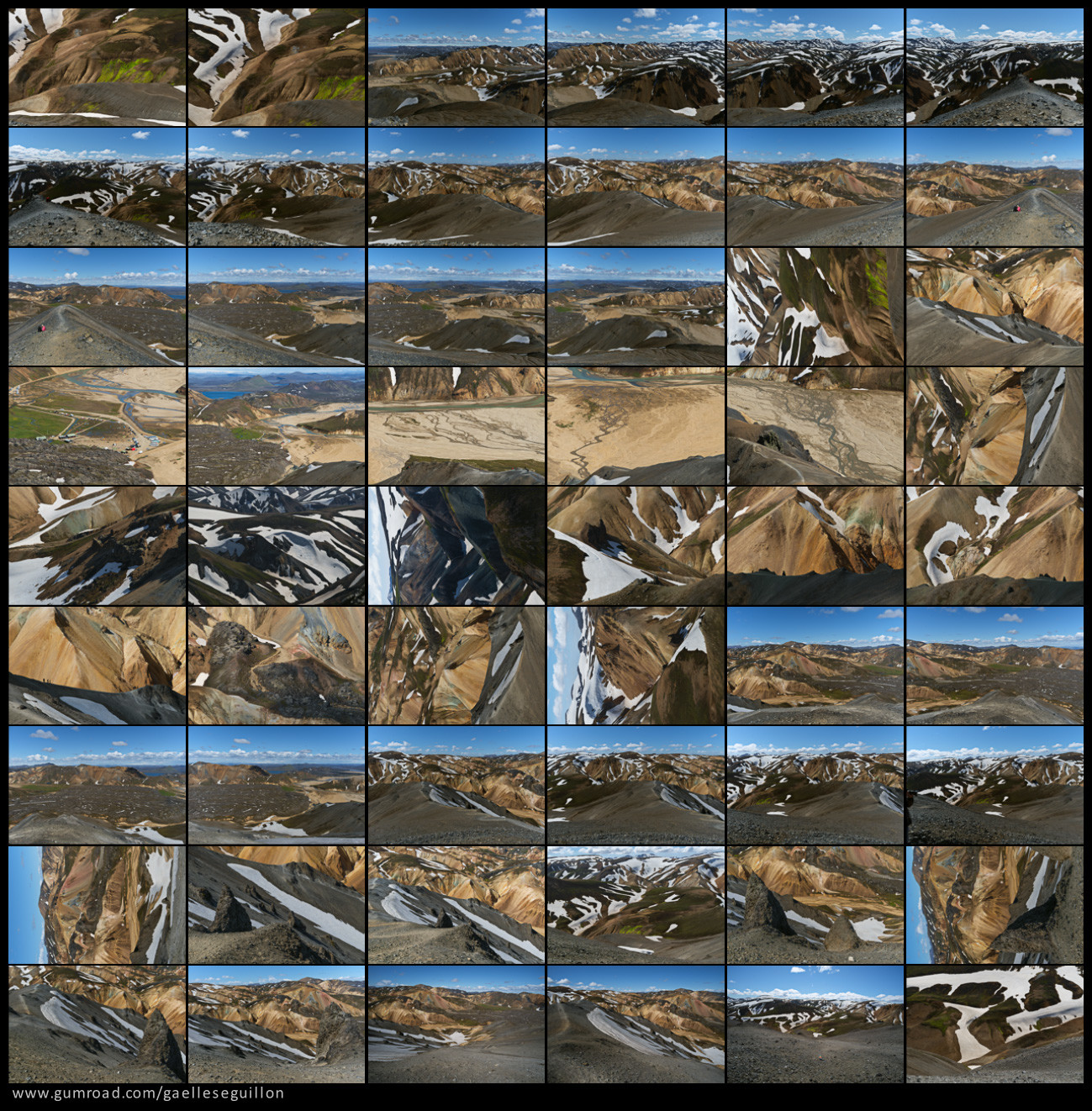 Rhyolite mountains preview 5