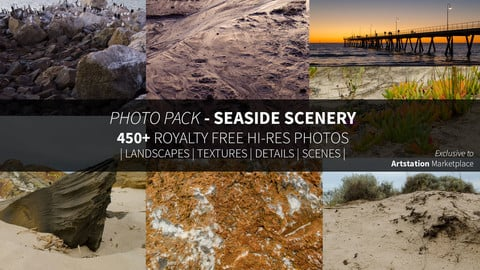 Photo Pack - Seaside Scenery