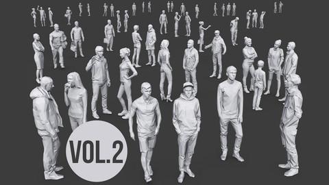 Complete Lowpoly People Pack Vol.2