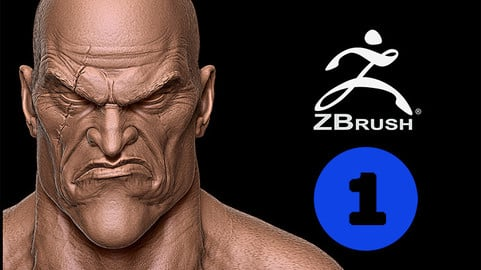 Kratos Vol. 1: Head and Body - Course Creating characters for video games on Zbrush