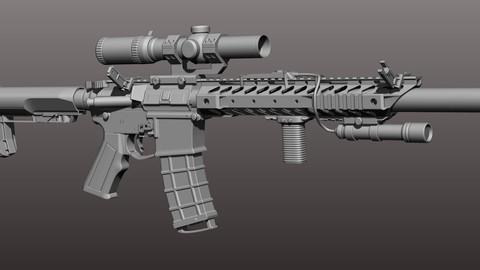 300 Blackout AR - B variant