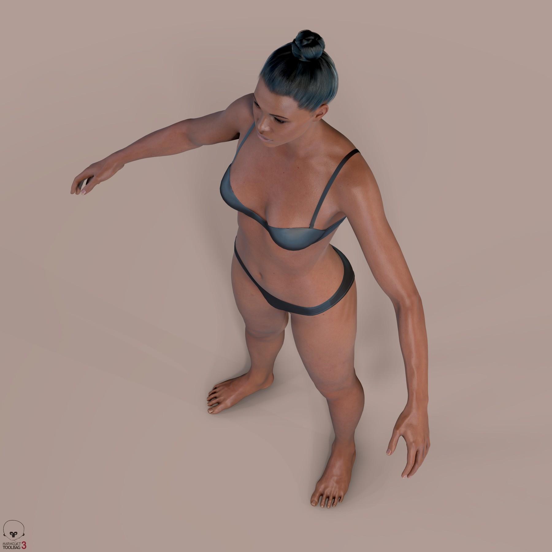 Averageblackfemalebody by alexlashko marmoset 09