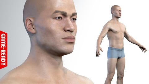 Average Asian Male Body