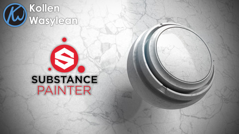 Substance Painter - Polished Marble Smart Material