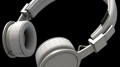 Headphone 3D Asset for Production