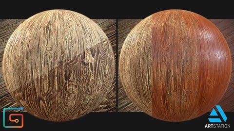 Procedural Wood .sbsar