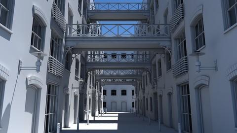3D Alleyway