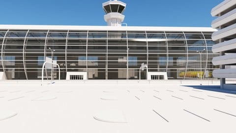 Airport Buildings Layout