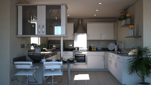 3D Kitchen 15
