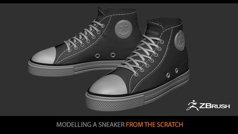 Modelling a Sneaker from the scratch