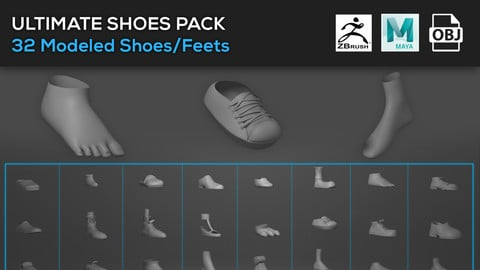 Shoes/Feets Assets