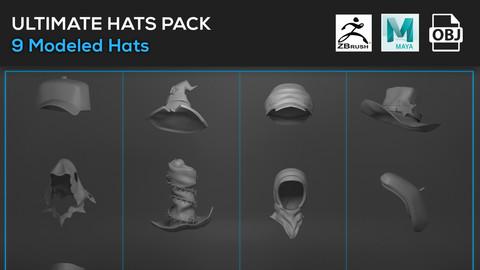Ultimate Hats Model Pack