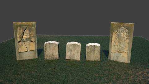Gravestones Pack 3