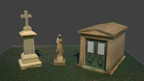 Gravestones Pack 6