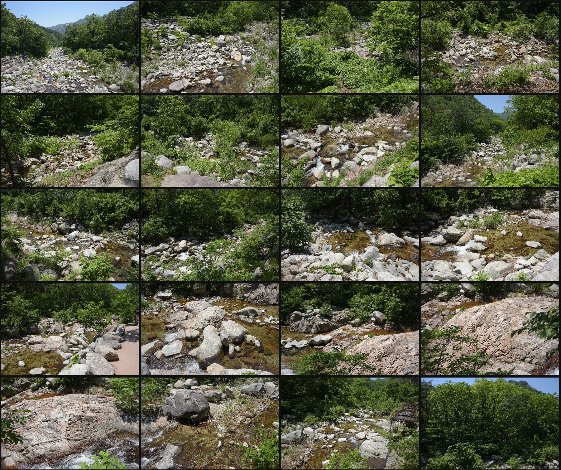 Photo reference pack moutain river 16