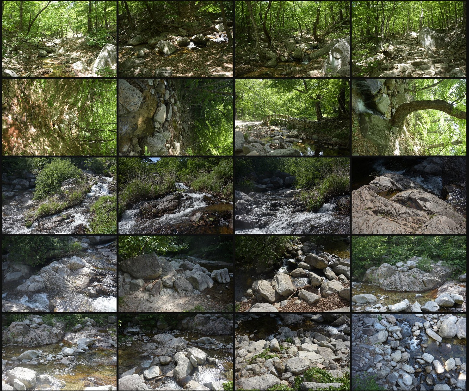 Photo reference pack moutain river 18
