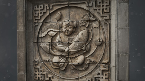 Traditional Chinese sculpture-photoscan