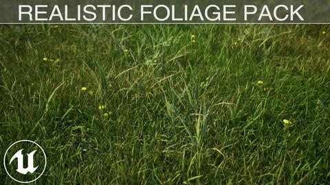 Realistic Foliage Pack - UE4