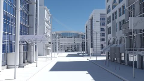HD City Street Scene
