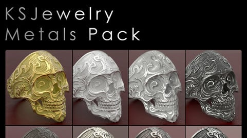 Keyshot Jewelry Metals Pack